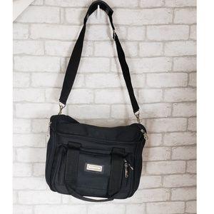 Protocol Large Black Hanging Travel Toiletry Bag